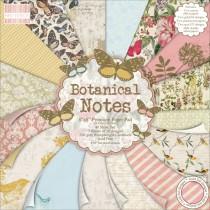 Sada papierov - Botanical Notes  20,3x20,3 (16ks)