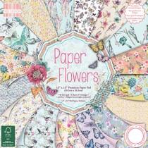 Sada papierov Flowers 30,5x30,5 (16ks)