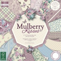 Sada papierov - Mulberry Kisses 20,3x20,3 (16ks)