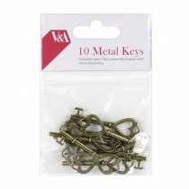 Kovové ozdoby - kľúče