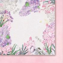 Obojstranný papier - When lilac bloom 02