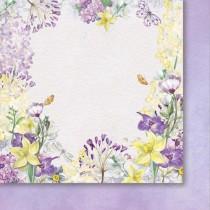 Obojstranný papier - When lilac bloom 03