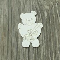 Lepenkový výrez -  party medvedíky