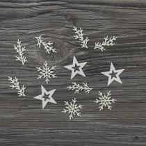 Lepenkový výrez - vianočná zostava