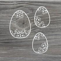 Lepenkový výrez - veľkonočné vajíčka