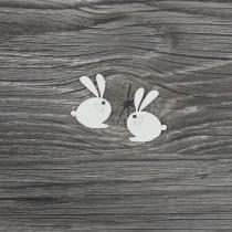 Lepenkový výrez - zajačiky