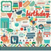 Nálepky - Happy Birthday Boy
