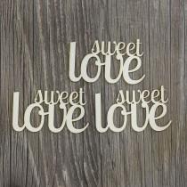 Lepenkové výrezy - sweet love