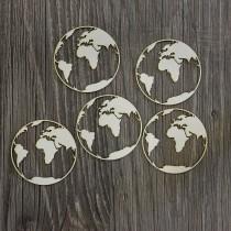Lepenkový výrez - Zemeguľa