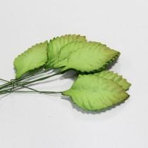 Papierové  listy - 4 cm,10ks