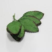 Papierové  listy - 5 cm,10ks