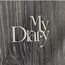 Lepenkový výrez - My diary