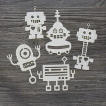 Lepenkový výrez - roboty