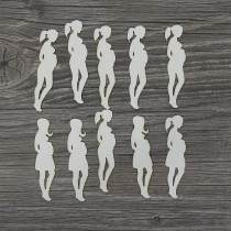 Lepenkový výrez - tehotenstvo