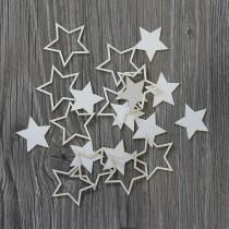 Lepenkový výrez - hviezdičky