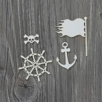 Lepenkový výrez- piráti