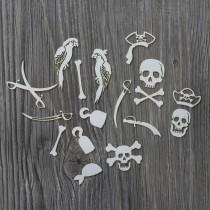 Lepenkový výrez- piráti 2