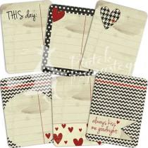 Journaling kartičky - Love me more