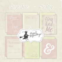Journaling kartičky - Softly
