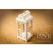 Lepenkový výrerz - Big vintage lantern