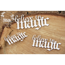 Lepenkový výrez - believe in magic