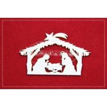 Lepenkový výrez - Bethlehem