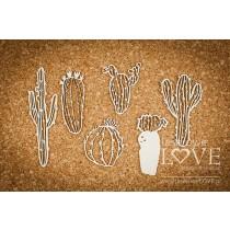 Lepenkový výrez - Cacti