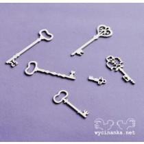 Lepenkový výrez - kľúče