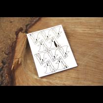 Lepenkový výrez - Micro Bridegroom 10ks