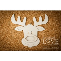 Lepenkový výrez - Reindeer shaker box