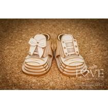 Lepenkový výrez - Shoe 3D