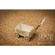Lepenkový výrez -   Toy wagon 3D Boy