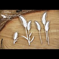 Lepenkový výrez - wheat ears