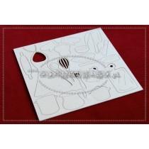 Lepenkový výrez - zostava kuchynská