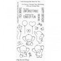 MFT Silikónové razítka -  Adorable Elephants