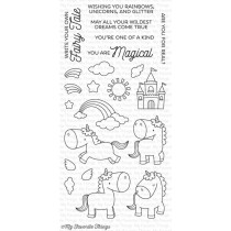 MFT Silikónové razítka - Magic Unicorns