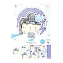 Papierové výseky - A5 Card Kit - Birthday Surprise