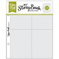 My Storybook -  6 x 8 Pocket Page - 3 x 4Pockets