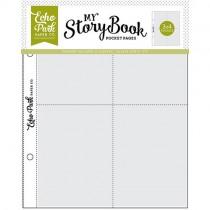My Storybook -  6 x 8 Pocket Page - 3 x 4Pockets