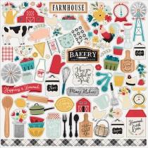 Nálepky - Farmhouse Kitchen