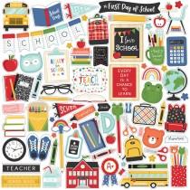 Nálepky - I Love School