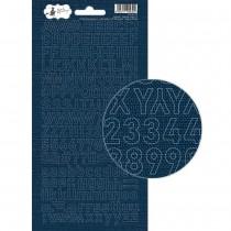 Nálepky abeceda - Soulmate 02