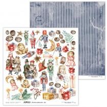 Obojstranný papier - Christmas Nutcracker 06
