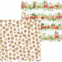Obojstranný papier - Christmas Treats 02