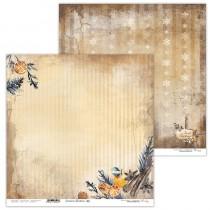 Obojstranný papier - Cinnamon Christmas 05