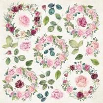 Jednostranný papier - Flower Vibes 07