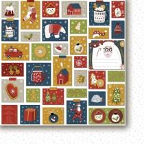 Obojstranný papier - Hello Santa Claus 01
