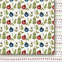 Obojstranný papier - Hello Santa Claus 02