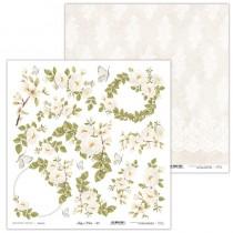 Obojstranný papier - Holy & White 07