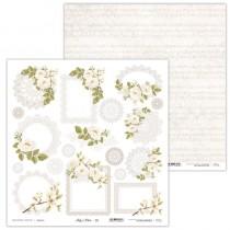 Obojstranný papier - Holy & White 10